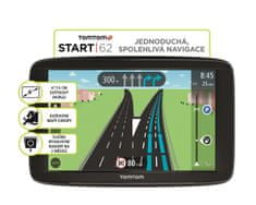 TomTom Start 62 Europe 45 zemí, LIFETIME