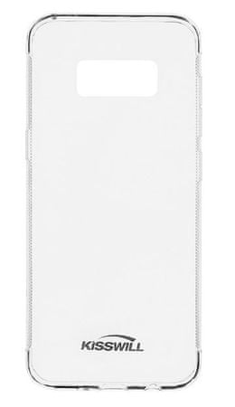 Kisswill silikonski ovitek za Samsung Galaxy S8 G950, prozoren