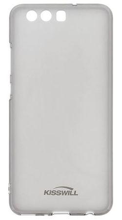 Kisswill silikonski ovitek za Huawei P10 Lite, prozorno črn