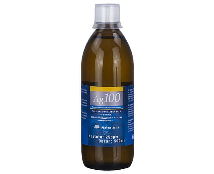 Pharma Activ Koloidní stříbro Ag100 (25ppm) (Objem 1000 ml)