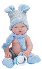 Nines mini lalka chłopczyk do wanny, 21 cm