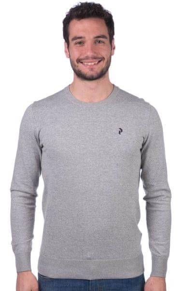 Peak Performance pánský svetr XL šedá