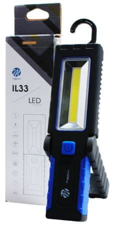 M-Tech delovna svetilka 3W high power led COB 3xAAA (IL33)
