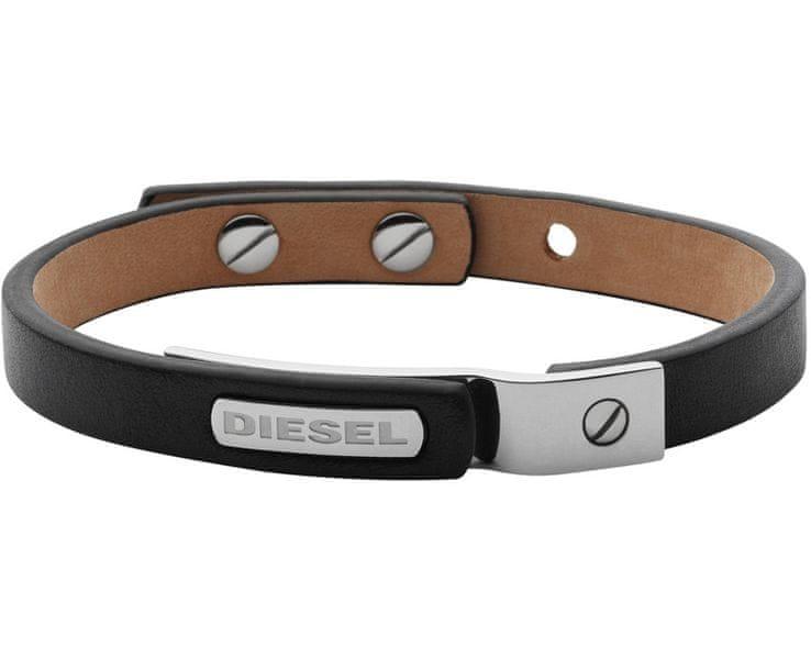 Diesel Pánský kožený náramek DX0969040