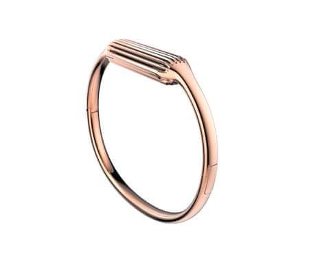 Fitbit Flex 2 fém szíj, S, Rozéarany