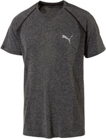 Puma moška majica evoKnit Basic Tee, siva, L