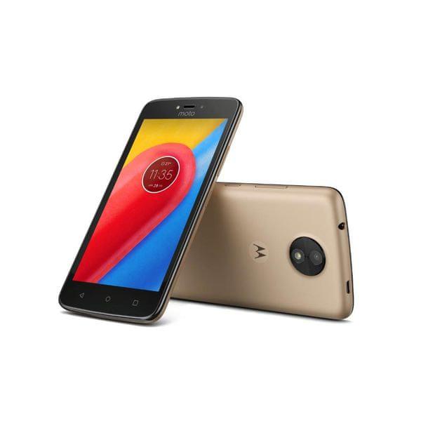 Motorola Moto C (4G), 16 GB, Gold