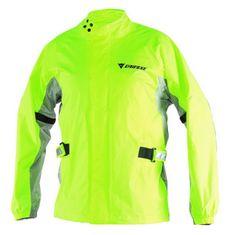 Dainese nepromokavá moto bunda (nepromok)  D-CRUST PLUS fluo žlutá