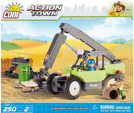 Cobi kocke Long Arm Forklift