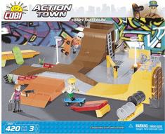 Cobi kocke za sestavljanje Crazy skatepark