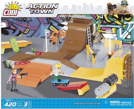 Cobi kocke Crazy Skatepark