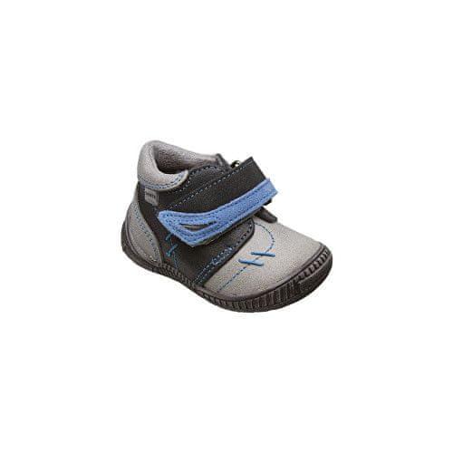 SANTÉ Zdravotní obuv dětská N/ROMA/101/69/19/87 šedá (Velikost vel. 26)