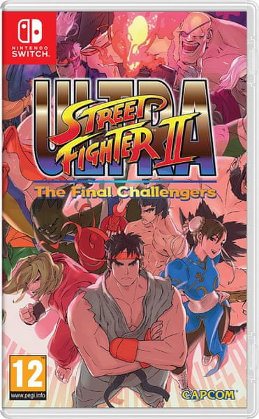 Nintendo Ultra Street Fighter 2: The Final Challenger / Switch