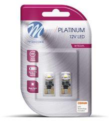 M-Tech žarnica LED W5W 12V 1xHP OSRAM LED, bela