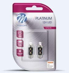 M-Tech žarnica LED C5W 12V CANBUS 41mm 2x OSRAM LED, bela