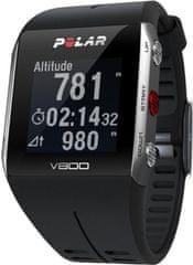 Polar športna ura V800, črna