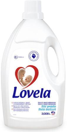 Lovela Gél biela, 3 l / 32 pracích dávok