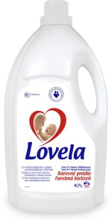 Lovela Gél color, 4,7 l/50 pracích dávok