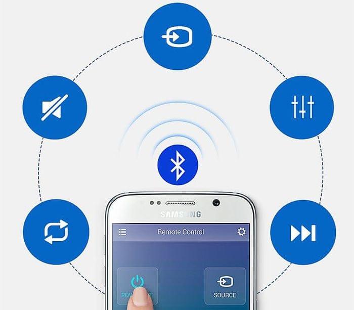 samsung audio remote