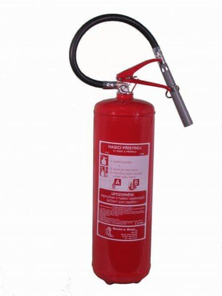 Hastex Pěnový hasicí přístroj - VP 6 TNC - nerez