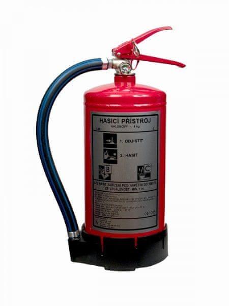 TEPOSTOP Hasicí přístroj s čistým hasivem - CA4LE