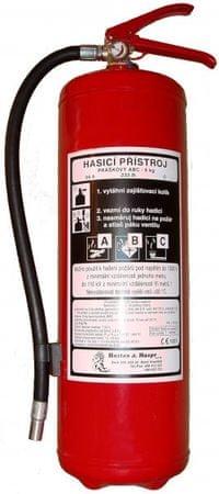 Hastex Práškový hasicí přístroj 6 kg - P6Th