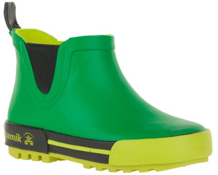 KAMIK nizki otroški škornji, zeleni, 33