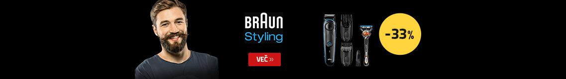 Braun moški styling -33% ugodneje