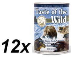 Taste of the Wild mokra karma dla psa Pacific Stream Canine 12 x 390g
