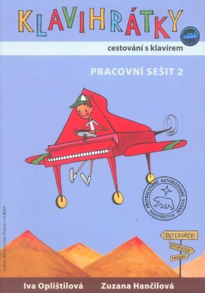 KN Klavihrátky - cestování s klavírem - pracovní sešit 2 Škola hry na klavír