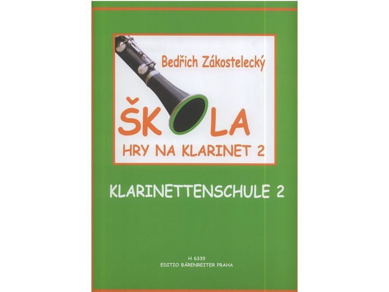 KN Škola hry na klarinet II Škola hry na klarinet