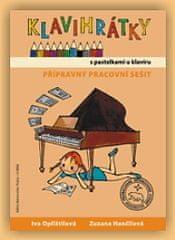 KN Klavihrátky - s pastelkami u klavíru - přípravný pracovní sešit Škola hry na klavír