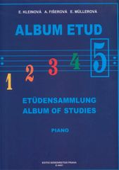 KN Album etud V Škola hry na klavír