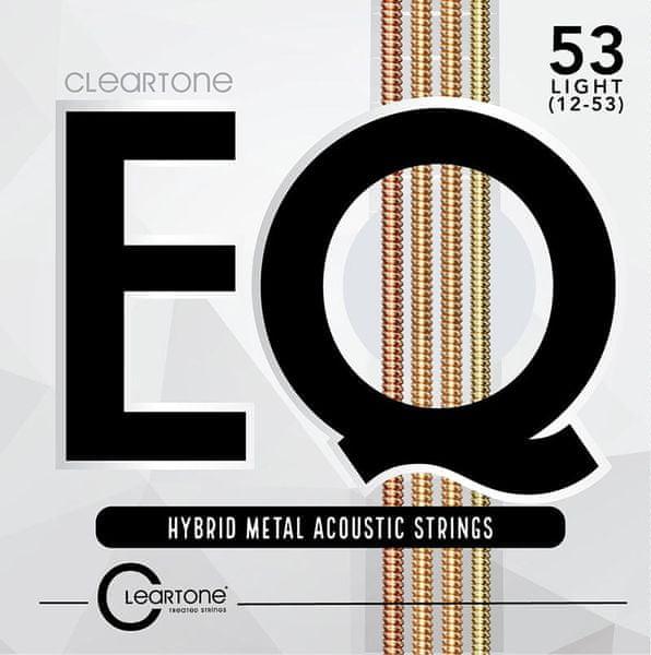 Cleartone EQ 53 Light Kovové struny pro akustickou kytaru
