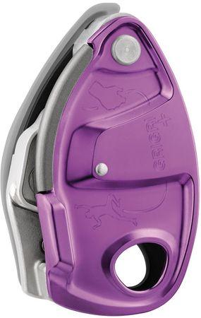 Petzl plezalno varovalo Grigri+, vijolično