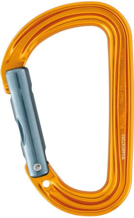 Petzl karabińczyk Sm´D Wall orange