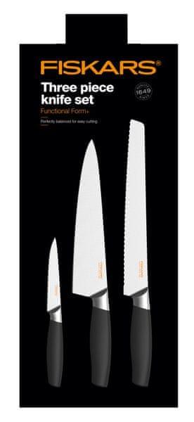 Fiskars Sada 3ks nožů 1016006