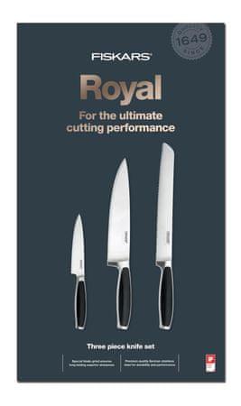 FISKARS Set troch nožov Royal 1016464