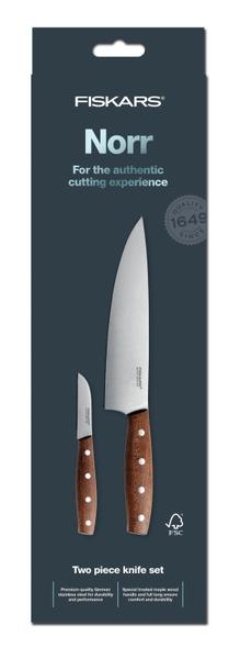 Fiskars Set dvou nožů Norr 1016471