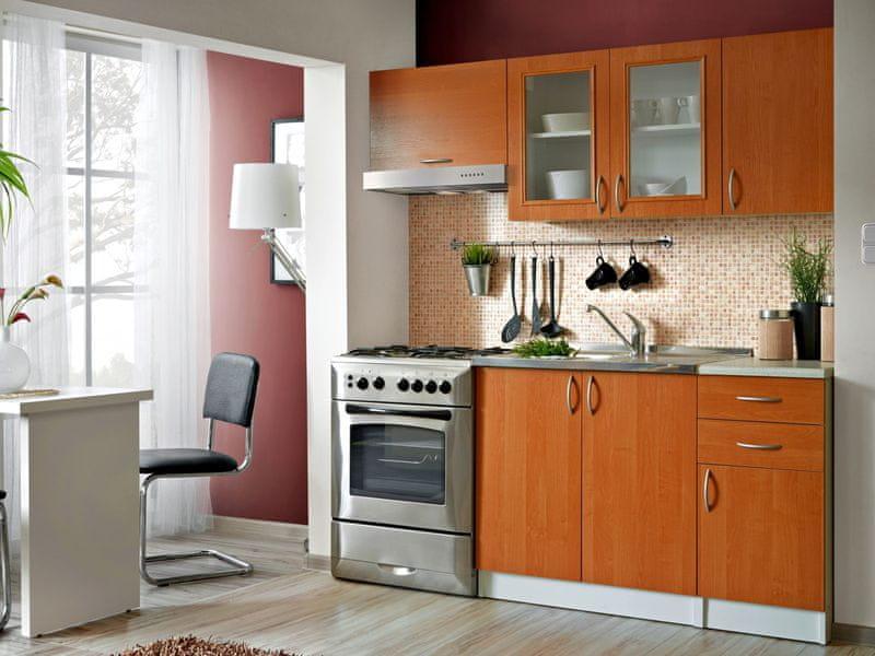 Kuchyně JOLANA II 120/180 cm, olše
