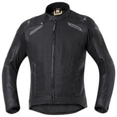 Held pánská gore-tex moto bunda  CAMARIS černá, CoolMax textil/kůže