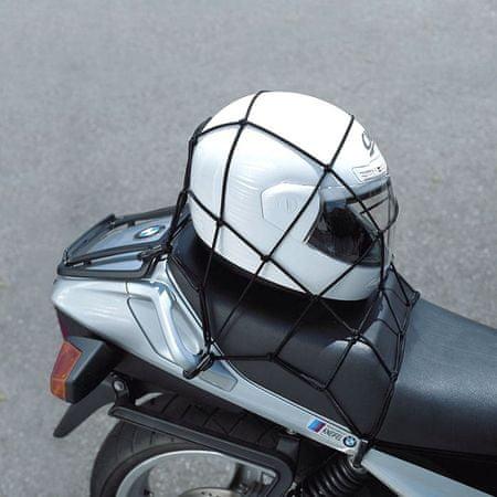Held sieťka na prilbu  40x40cm čierna