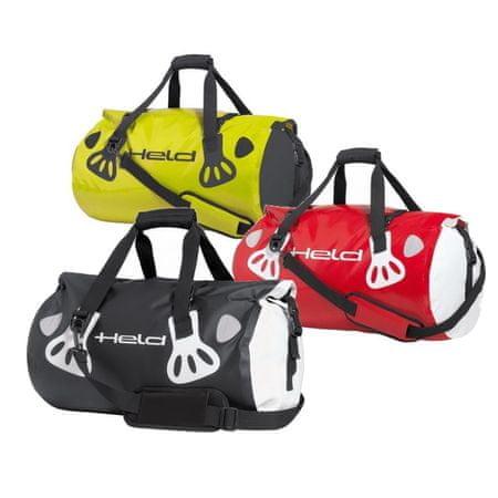 Held valec (Roll bag)  CARRY-BAG 60L biela/červená, vodeodolný