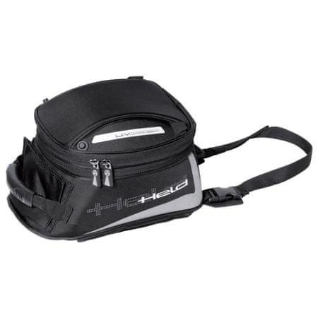Held motocyklový Tankbag  AGNELLO M-objem 13-21l, čierny, Magnetický systém