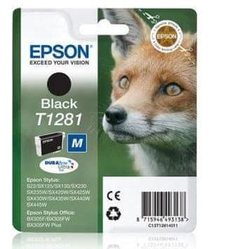 Epson kartuša T1281, črna (C13T12814012)