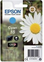 Epson kartuša 18, cyan (C13T18024012)