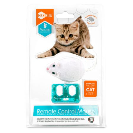 Hexbug robotska miška IR + GRATIS konzerva Brit Care Cat, piščančja prsa s sirom, 80g