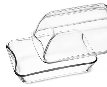Simax pravokoten steklen pekač, 8,6 l