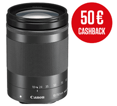 Canon objektiv EF-M 18-150 F3.5-6.3 IS ST