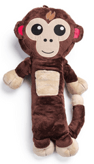 Vitapur otroška potovalna blazina Vitapur Family - opica Miki